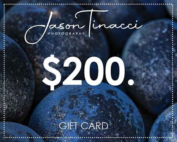 $200 Gift Card | Jason Tinacci Photography
