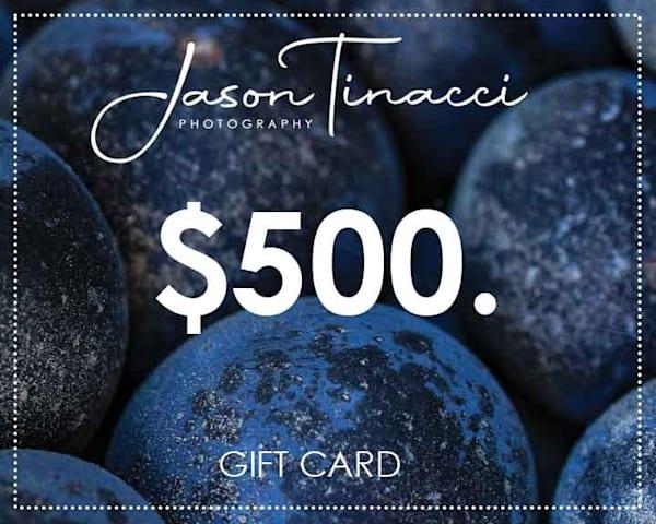 $500 Gift Card | Jason Tinacci Photography