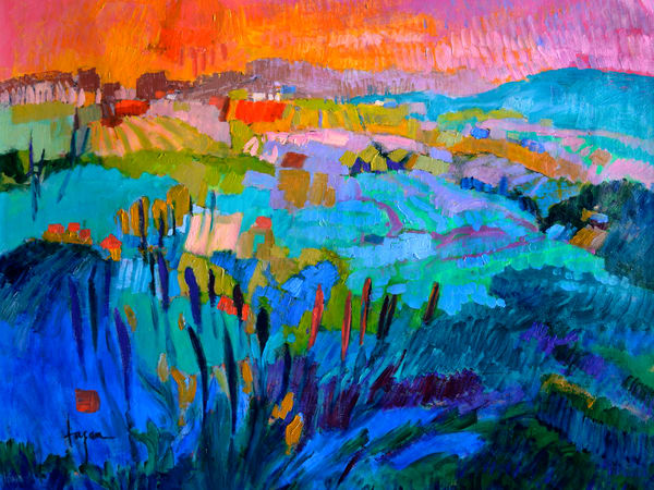 The Pond Within  Art | Dorothy Fagan Joy's Garden