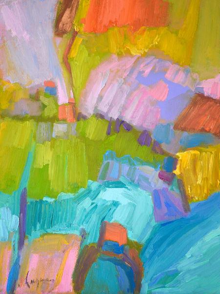 Rising Ii  Art | Dorothy Fagan Joy's Garden