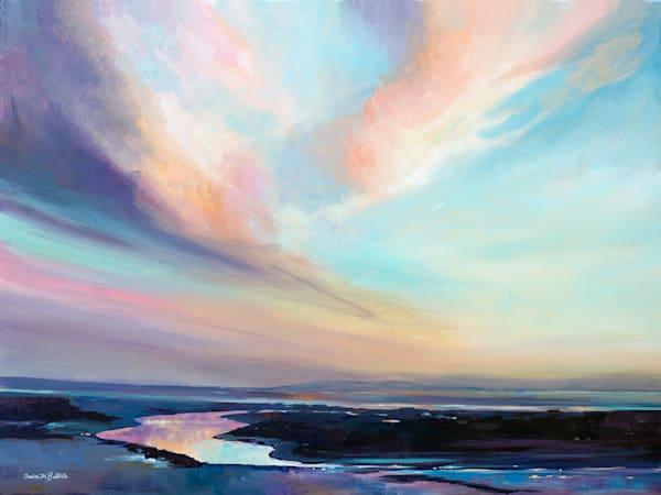 Original Sky Painting - DENISE DI BATTISTA