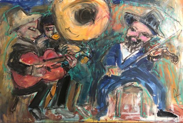 OriginSl painting of New Orleans Street Scenes