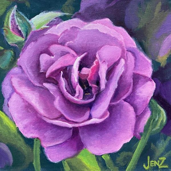 Ebb Tide Rose Art   Jennifer Zardavets Art