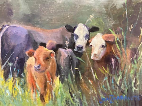Out To Pasture Art   Jennifer Zardavets Art