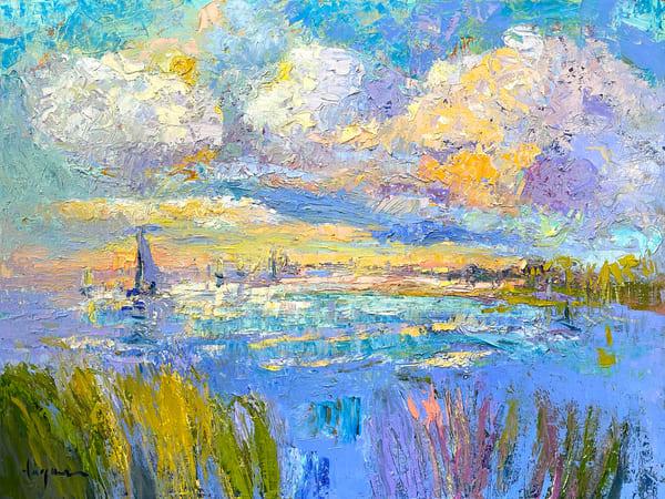 Shimmering Afternoon  Art | Dorothy Fagan Joy's Garden