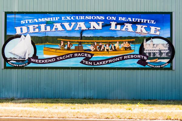 Delavan Lake Steam Ships Photography Art   Lake LIfe Images