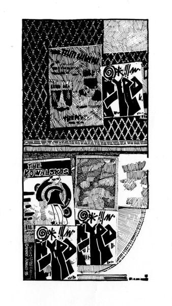 Graffiti Fence Art | Andre Junget Illustration LLC