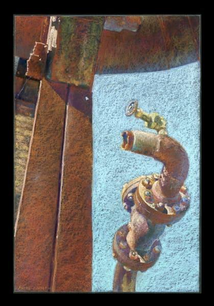 End Of The Line Art | Andre Junget Illustration LLC