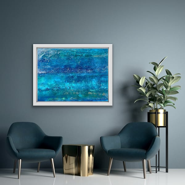 Joy To The Fishes In The Deep Blue Sea Art | Jenny McGee Art