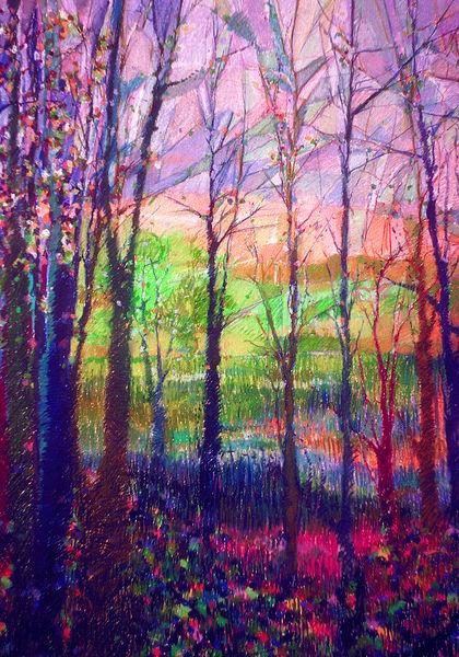 Two Sisters  Art | Dorothy Fagan Joy's Garden