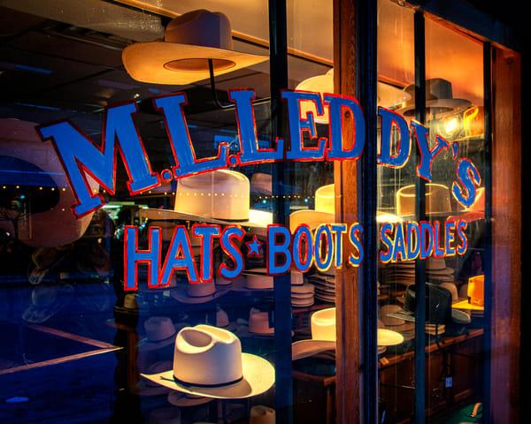 M.L. Leddy's Storefront - Texas fine-art photography prints