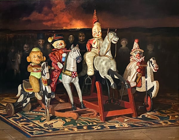 Four Horsemen Of The Apocalypse Art   Richard Hall Fine Art