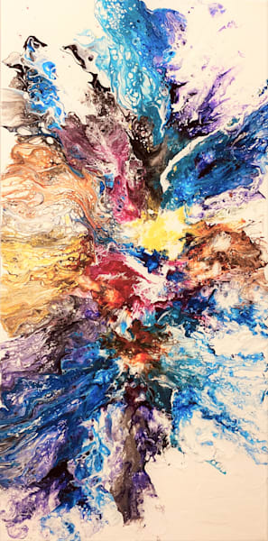 Colors Everywhere Art | Kimberlykort