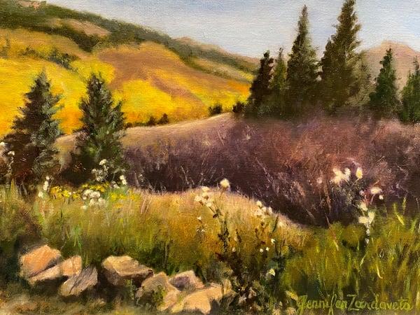 Jennifer Zardavets Art - Aspen Hills