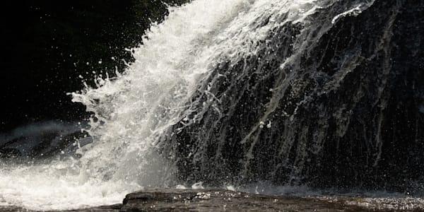 An Intimate Print of Triple Falls in NC