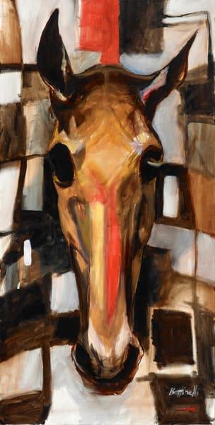 Racehorse   Custom Size Print Art   Bottinelli Fine Art