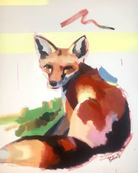 Evolution Of A Fox Ii   Custom Size Print Art   Bottinelli Fine Art