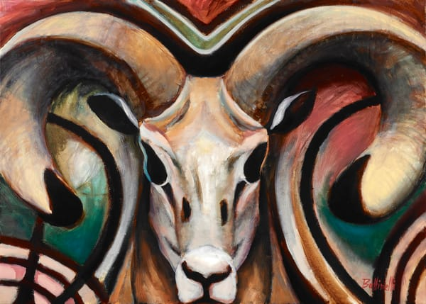 Ram   Custom Size Print Art   Bottinelli Fine Art