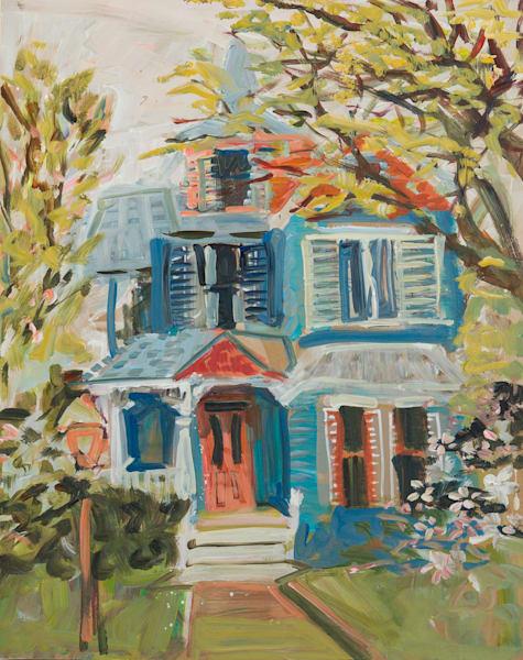 1506 N Nicholas St Art | Erika Stearly, American Artist