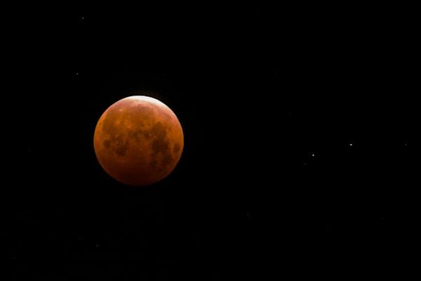 Blood Moon Photography Art | Ron Olcott Photography