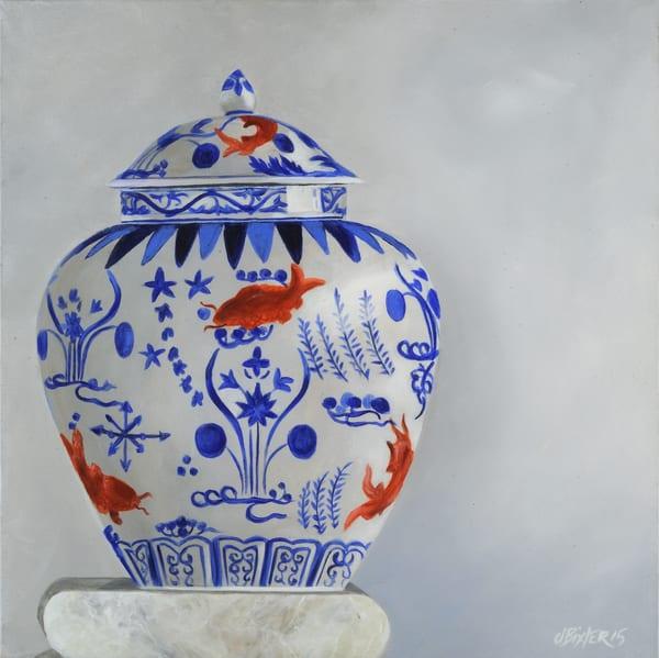 Carp Vase Art | Joan Bixler Art