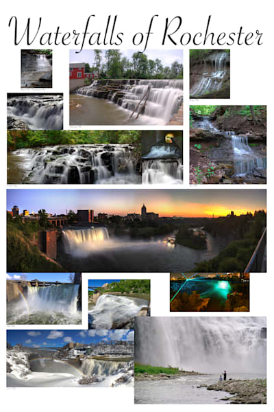 Waterfalls Of Rochester Photography Art | RAndrews Photos