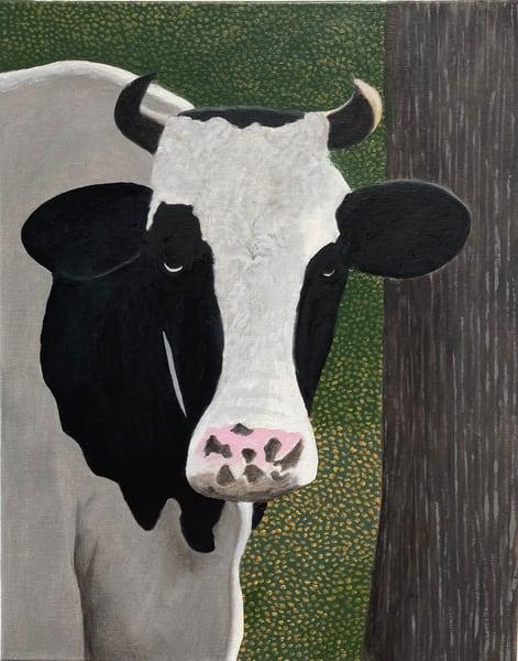 La Jolie Vache Viii Art | David R. Prentice