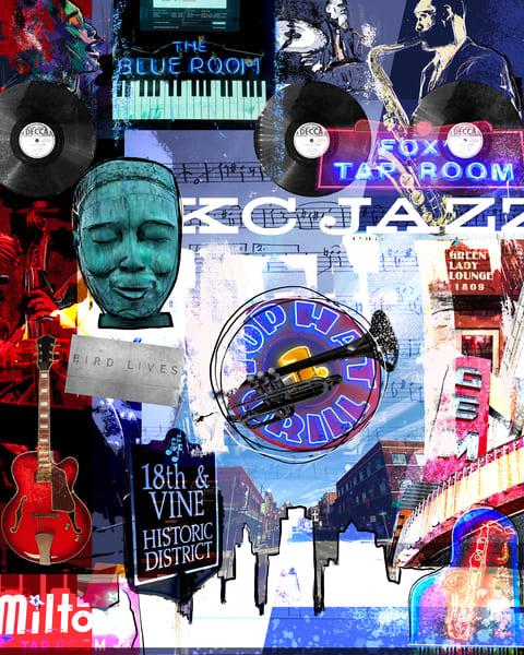 Kc Jazz Art | John Knell: Art. Photo. Design