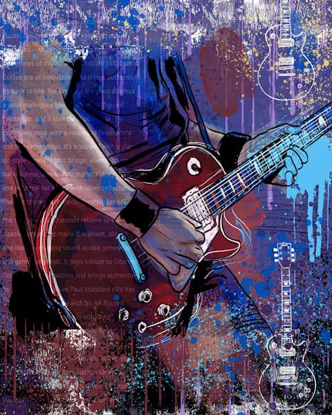 Guitarist Art | John Knell: Art. Photo. Design