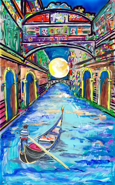 The Canal At Dawn | Places Art | JD Shultz Art