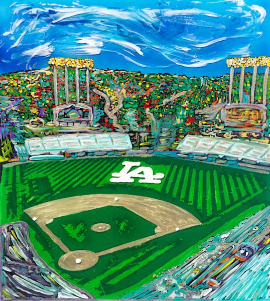 Dodger Stadium | Places Art | JD Shultz Art