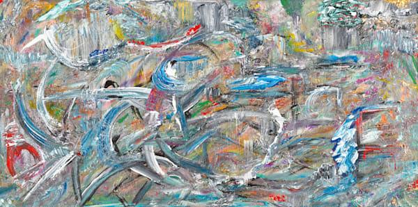 Rush Hour   Abstract Art   JD Shultz Art