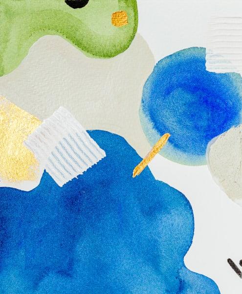 Blue Sound Art   Makiko Harris Art