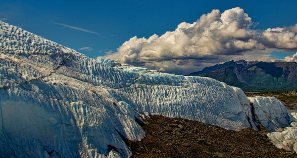 Matanuska Glacier View  6333 Pano Photography Art | Koral Martin Fine Art Photography