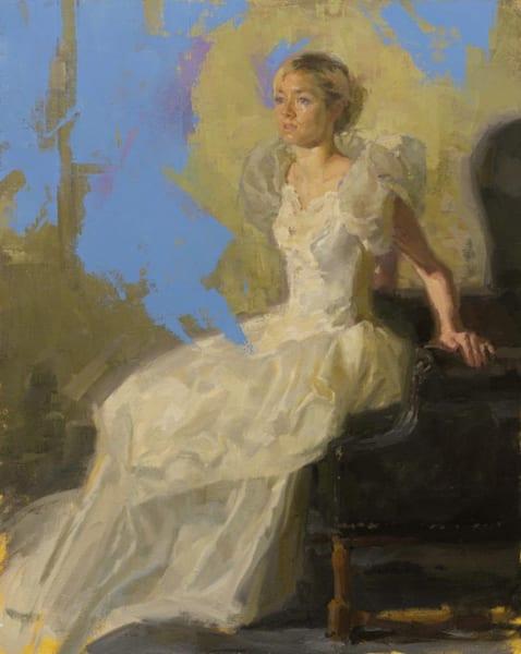 Anna, Wedding Dress Ii Art | Fountainhead Gallery