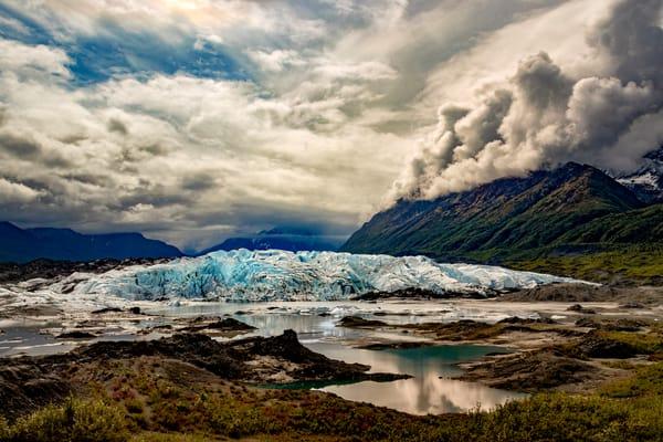 Moving Matanuska   Matanuska Glacier View 6188 F  Photography Art | Koral Martin Fine Art Photography