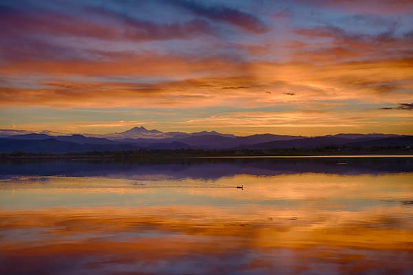Colorful Colorado Sunset Photography Art | Nicholas Jensen Photography