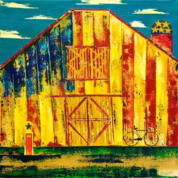American Barn  Art   benbonart
