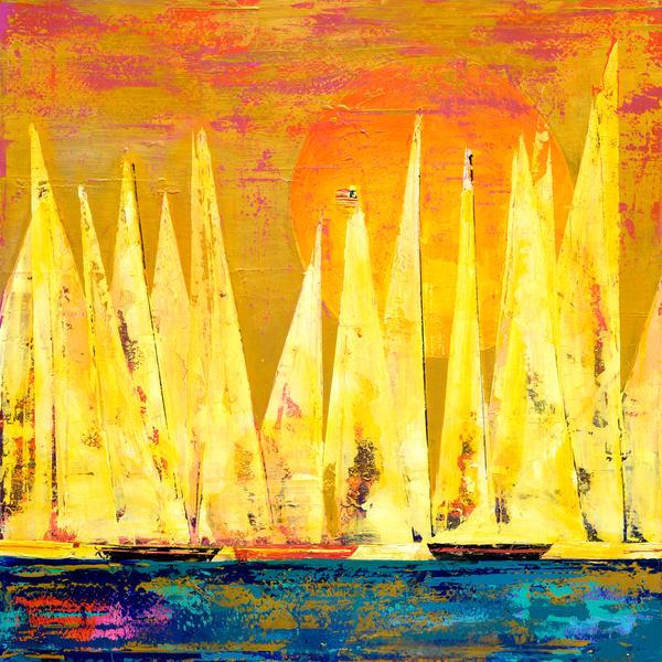 Sail At Ease  Art   benbonart