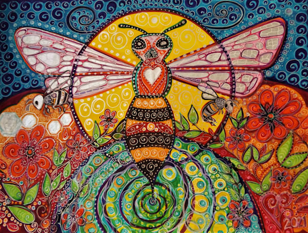 Blessed Bee Very Best Art   Cynthia Christensen Art