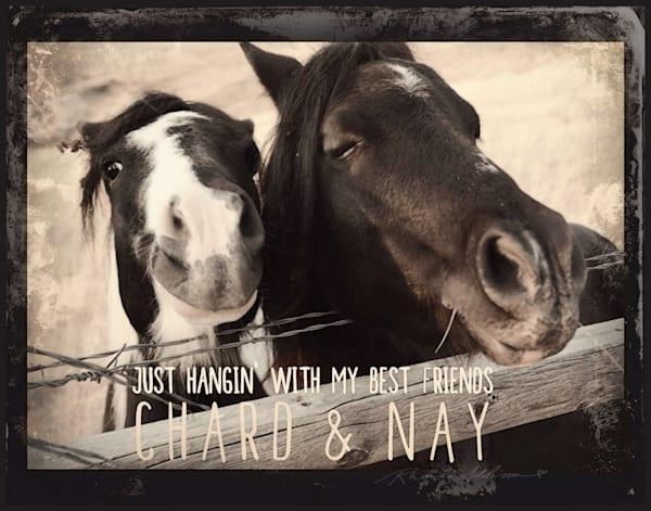 Chard & Nay Horses Art