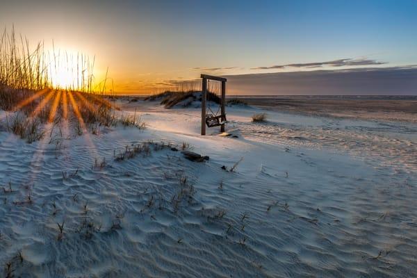 Sunrise on the Swing