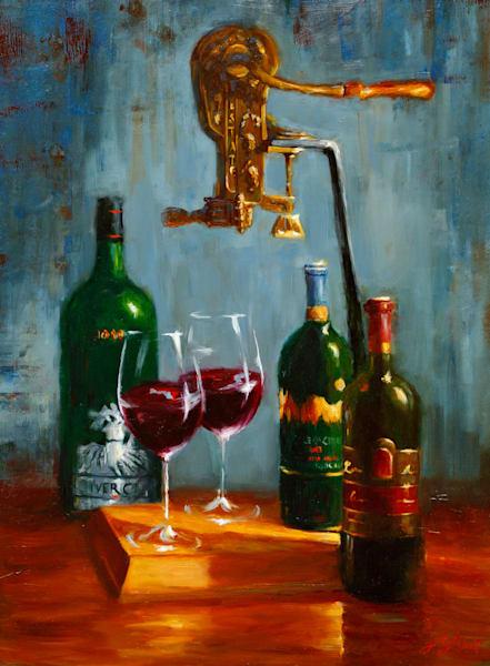 For The Wine Lovers Art   Jamie Lightfoot, Artist