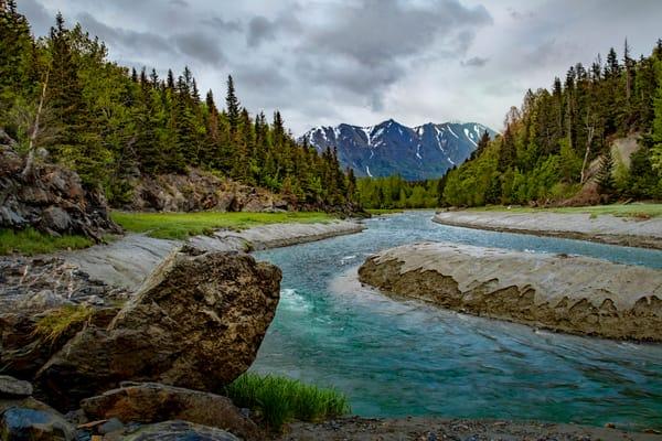Bird Creek Along Turnigain Arm Drive 8106 Photography Art | Koral Martin Fine Art Photography