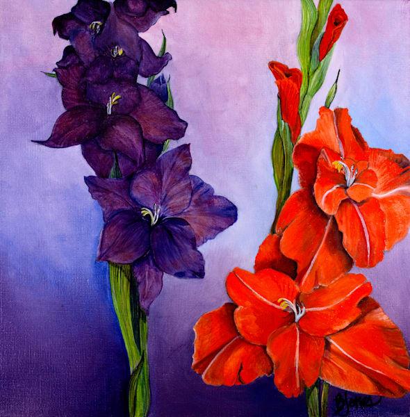 Gladiolas Art   Jones Family Art