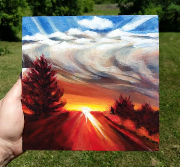 First Up Art | Lesley McVicar Art