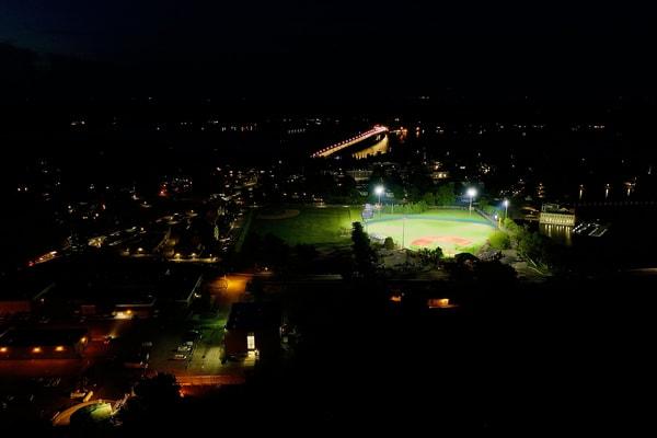 Bishop Stadium, Usna Art   Jeff Voigt Owner/Aerial Photographer