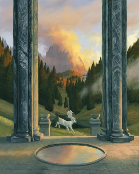 Vale Of The White Stag Art | Studio Girard