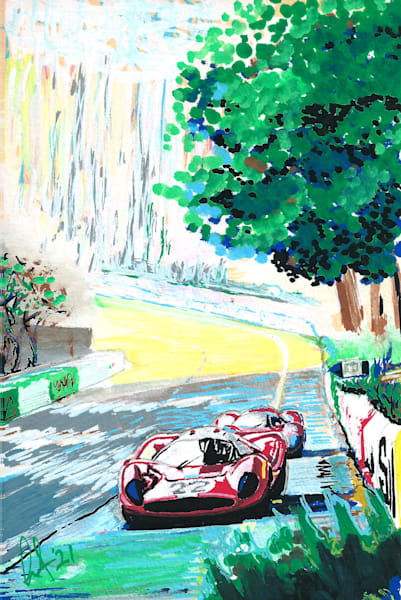 Ferrari 412P Le Mans '67
