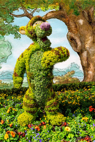 Tigger Topiary At Hundred Acre Woods Photography Art | William Drew Photography